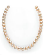 10-11mm Peach Freshwater Pearl Necklace