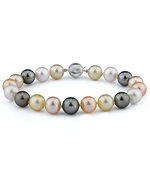9-10mm South Sea & Freshwater Multicolor Bracelet