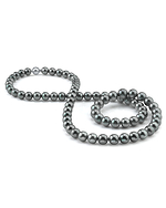 Opera Length 10-11mm Tahitian South Sea Pearl Necklace - AAAA Quality