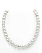11-12mm White Freshwater Pearl Necklace