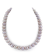 11-12mm Lavender Freshwater Pearl Necklace-AAAA Quality