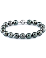 11-12mm Tahitian South Sea Pearl Bracelet - AAAA Quality