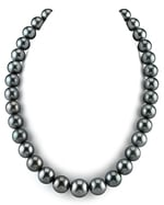CERTIFIED 11-13mm Tahitian South Sea Pearl Necklace