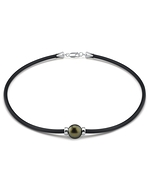 Tahitian Round Pearl Necklace- Various Sizes