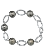 Tahitian South Sea Pearl Designer Bracelet
