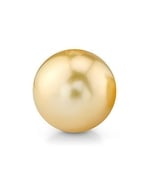 12mm Golden South Sea Drop Loose Pearl
