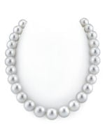 CERTIFIED 13-16mm White South Sea Pearl Necklace - AAAA Quality