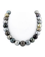Massive 13-16mm Tahitian South Sea Multicolor Pearl Necklace