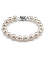 7.0-7.5mm Hanadama Akoya White Pearl Bracelet