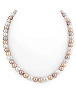 7-8mm Freshwater Multicolor Pearl Necklace-AAAA Quality