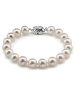 8.5-9.0mm Hanadama Akoya White Pearl Bracelet