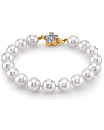 9-10mm White South Sea Pearl Bracelet - Secondary Image