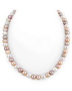8-9mm Freshwater Multicolor Pearl Necklace - AAAA Quality