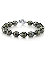 8-9mm Tahitian South Sea Drop Pearl Bracelet