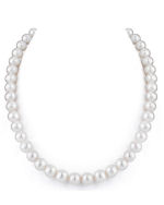 9-10mm White Freshwater Pearl Necklace
