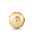 9mm Golden South Sea Loose Pearl