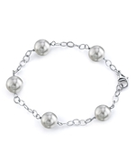 9-10mm South Sea Pearl Tincup Bracelet