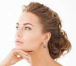 Tahitian South Sea Pearl Classic Elegance Earrings - Third Image