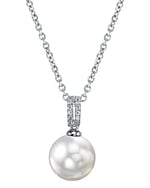 South Sea Pearl & Diamond Belinda Pendant