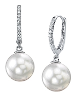 8.0-8.5mm Hanadama Akoya White Pearl Necklace