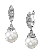 South Sea Pearl & Diamond Kendall Earrings