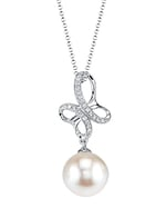 Akoya Pearl & Diamond Aiden Pendant