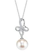 Akoya Pearl & Diamond Aiden Pendant