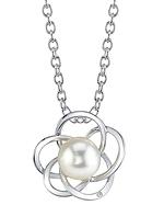Japanese Akoya Pearl & Diamond Avery Pendant