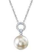 Akoya Pearl & Diamond Joyce Pendant