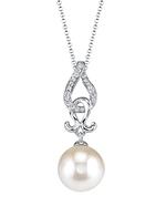 Akoya Pearl & Diamond Judy Pendant
