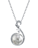 South Sea Pearl & Diamond Courtney Pendant