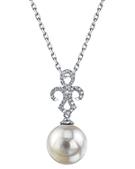 South Sea Pearl & Diamond Paige Pendant