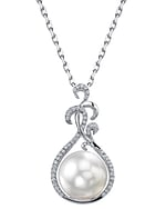 South Sea Pearl & Diamond Taylor Pendant