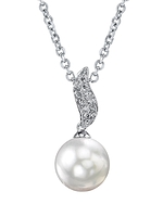 South Sea Pearl & Diamond Zoey Pendant