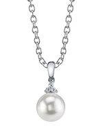 South Sea Pearl & Diamond Alyssa Pendant