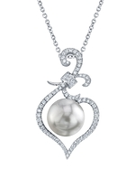 South Sea Pearl & Diamond Ann Pendant