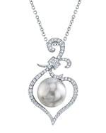 South Sea Pearl & Diamond Ann Pendant