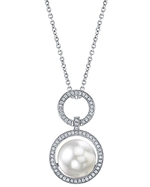 South Sea Pearl & Diamond Cameron Pendant