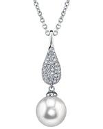 South Sea Pearl & Diamond Brooklyn Pendant