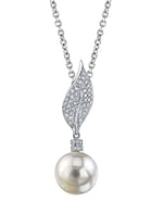 South Sea Pearl & Diamond Eva Pendant