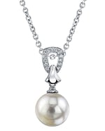South Sea Pearl & Diamond Florence Pendant