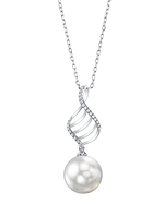 South Sea Pearl & Diamond Jenny Pendant