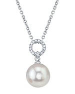 South Sea Pearl & Diamond Joyce Pendant