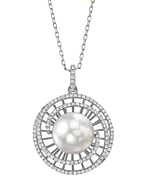 South Sea Pearl & Diamond Karen Pendant