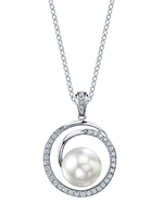South Sea Pearl & Diamond Kerri Pendant
