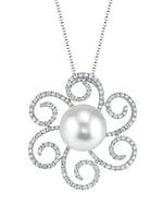 White South Sea Pearl & Diamond Kirsten Pendant