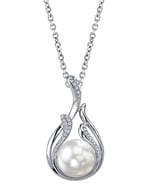 South Sea Pearl & Diamond Layla Pendant