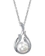 South Sea Pearl & Diamond Layla Pendant