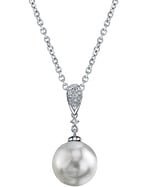 South Sea Pearl & Diamond Madeline Pendant