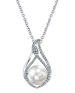 South Sea Pearl & Diamond Meredith Pendant